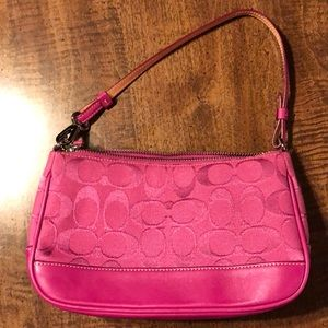 Coach Small Pink Handbag